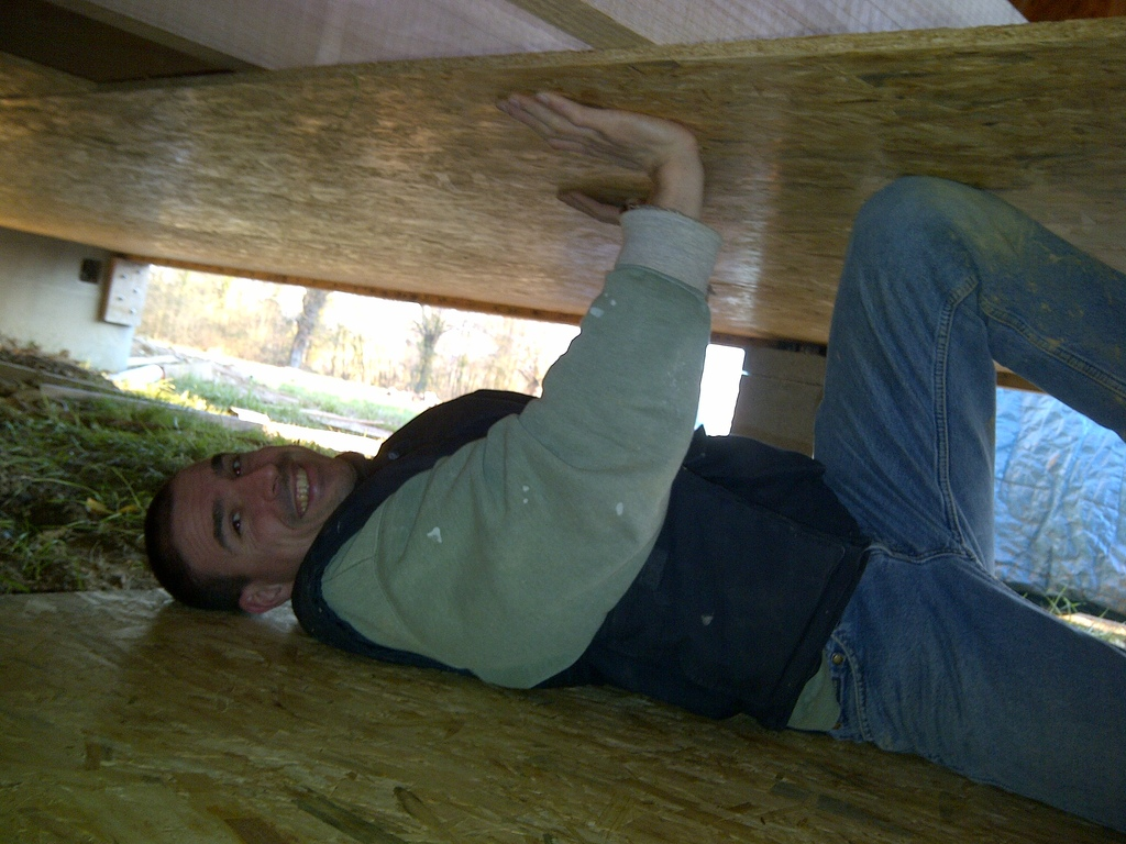 Comment faire un plancher en bois dans un garage - Faire un plancher bois dans un garage ...